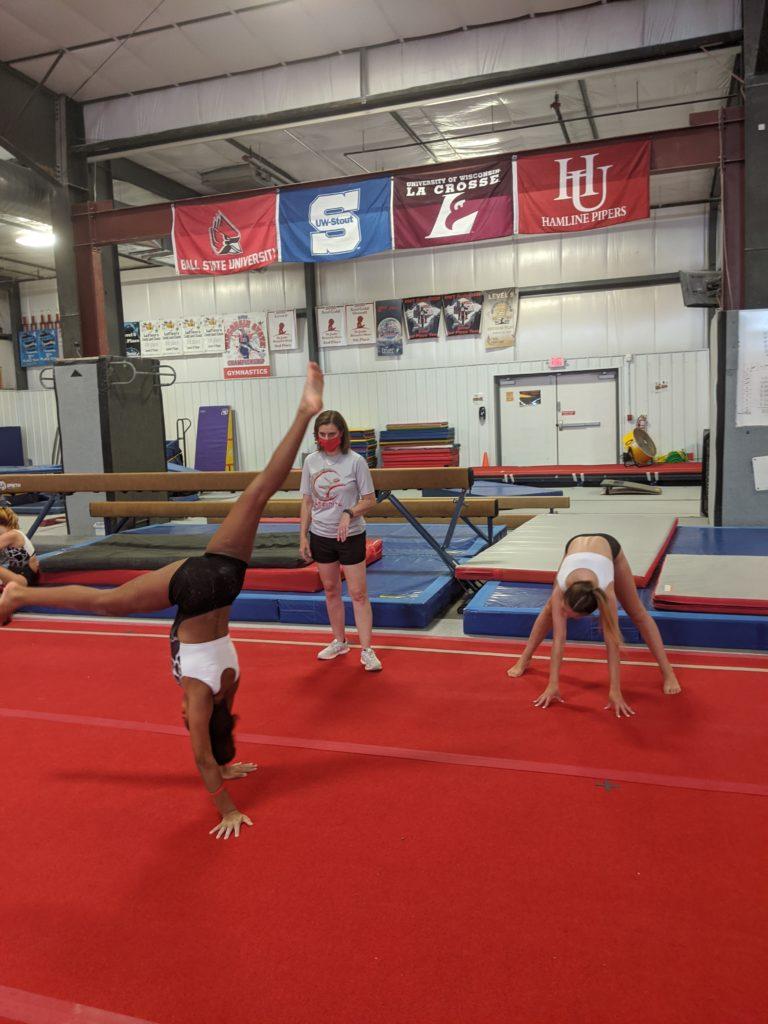 Gymfinity Covid Gymnastics