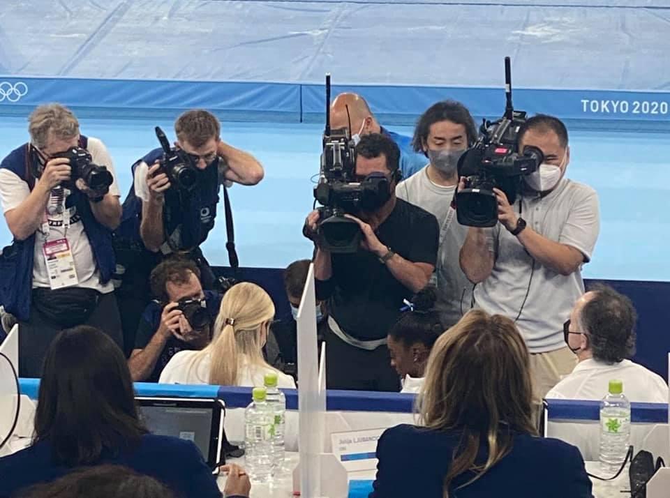 Simone at the Olympics