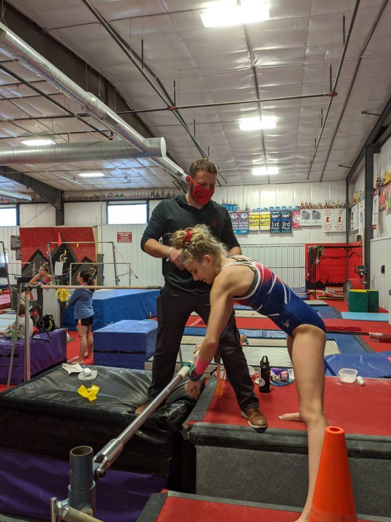 Coaching at Gymfinity